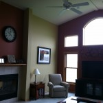custom living room paint finishes